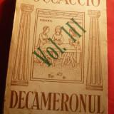 Boccaccio - Decameronul vol III Ed.1936 Cartea Romaneasca, trad. Al. Marcu