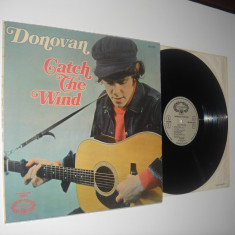 DONOVAN: Catch The Wind (1965)(vinil stare VG, Made In Engl., culegere oficiala)