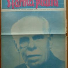 Revista Sfarma Piatra, nr. 129, 1938, Director Al. Gregorian, ziar legionar