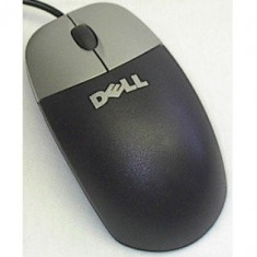 Mouse Optic Dell, M056UOA, USB, Black and Silver