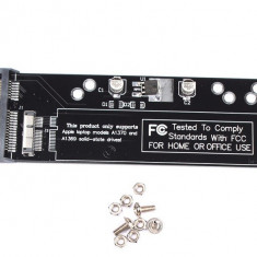 Adaptor Convertor 12+6 Pini Ssd / Hdd La Sata 22 Pini Macbook Air 2010/2011 (DP)