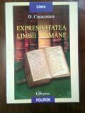 D. Caracostea - Expresivitatea limbii romane (Editura Polirom, 2000)