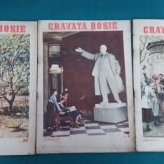 LOT 8 REVISTE CRAVATA ROȘIE *ANII 1953-1954