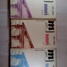 Iorgu Iordan - Memorii {3 volume}