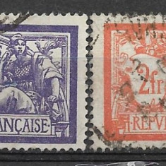 Franta 1920, Stampilat