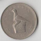 Moneda 20 cents 1964 - Rhodesia, Africa