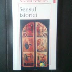 Nikolai Berdiaev - Sensul istoriei (Editura Polirom, 1996) - Carte Filosofie