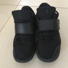 Adidasi copii Jordan j23 triple black, Marime: 35.5, Culoare: Negru