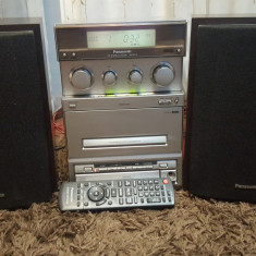 Combina Muzicala cu Radio CD Auxiliar PANASONIC SA-PM15 - Combina audio Panasonic, Mini-sistem, 0-40 W