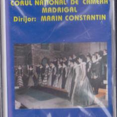 Caseta audio: Madrigalul canta copiilor (1997 - ELECTRECORD originala, SIGILATA) - Muzica Corala electrecord, Casete audio