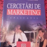 Cercetari de marketing-aplicatii - Carte Marketing