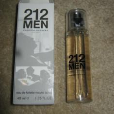 PARFUM 40 ML CH 212 MEN --SUPER PRET, SUPER CALITATE! - Parfum barbati Carolina Herrera, Apa de toaleta