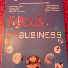 FOCUS ON BUSINESS - Roxana-Emanuela Dude