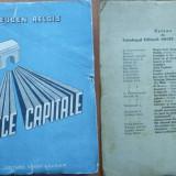 Eugen Relgis, Peregrinari europene ; Zece capitale, 1947, editia 1 - Carte de calatorie