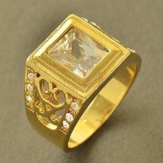 Inel Barbati dublu placat aur 24K Cod produs: IN90, 57 - 67