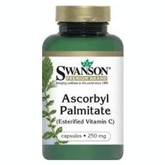 Vitamina C 250mg (Palmitat de Ascorbil) Swanson Medical District 120cps Cod: sw880