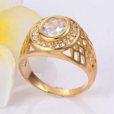 Inel Barbati dublu placat aur 24K Cod produs: IN91, 57 - 67