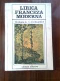 Lirica franceza moderna - florilegiu de C.D. Zeletin (Editura Albatros, 1981)