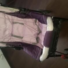 Carucior DHS baby 3 in 1 cu maner reversibil