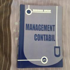 Carte - Management contabil de Marioara Avram anul 2010 / 262 pagini ! - Carte Contabilitate