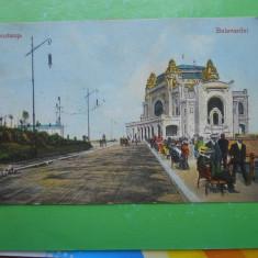 HOPCT 32 J BULEVARDUL DE LA CAZINO IN 1924 -CONSTANTA -CT -CIRCULATA - Carte Postala Dobrogea dupa 1918, Printata