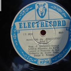 P. Stefanescu - Goanga disc patefon gramofon Electrecord TT 2030 st impecabila!, Alte tipuri suport muzica