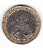 Bulgaria 1 leva 2002, aUNC, singurul an de batere -  KM# 39, Schön# 38