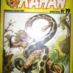 RAHAN - Literatura   pt  adolescenti -in franceza - Ilexim 1981.