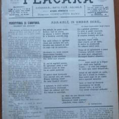 Flacara literara , artistica , sociala , Director C-tin Banu , 1914-15 , 27 nr.