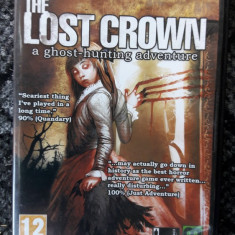 PC The Lost Crown: A Ghost-hunting Adventure PC DVD ROM