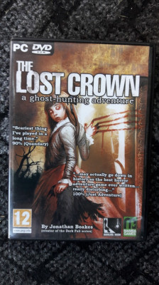 PC The Lost Crown: A Ghost-hunting Adventure PC DVD ROM foto