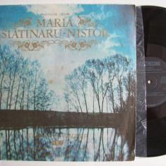 Disc vinil MARIA SLATINARU - NISTOR - Recital de lieduri (ST - ECE 01811) - Muzica Opera electrecord