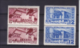 ROMANIA 1939 , LP 129 , EXPOZITIA NEW-YORK  2 SERII  MNH, Nestampilat