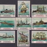 Fujeira 1968 12 Euro nave corabii vapoare - serie nestampilata MNH - Timbre straine