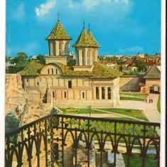 CPI (B8732) CARTE POSTALA - TARGOVISTE. BISERICA DOMNEASCA - Carte Postala Muntenia dupa 1918, Circulata, Fotografie