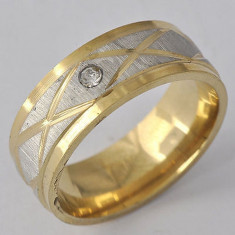 Inel Barbati dublu placat aur 18K Cod produs: INB 3, 57 - 67