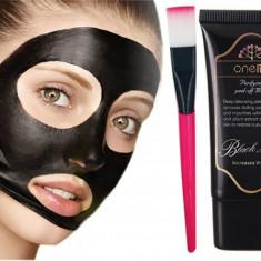 Black mask crema One1X, masca neagra originala pentru pealing facial curatare - Masca fata