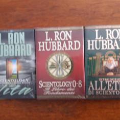 3 carti Dianetica, Scientologie - L. Ron Hubbard  /  R3P1F, Alta editura