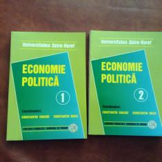 Universitatea Spiru Haret - Economie politica volumul I si II !