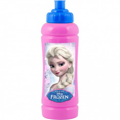Sticla apa plastic Frozen Lulabi 8006500 Roz - Cana bebelusi