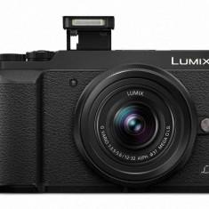 Kit aparat foto Panasonic DMC-GX80K (obiectiv 12-32mm ), Black