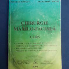 NICOLAE GANUTA - CHIRURGIE MAXILO-FACIALA ( CURS ) - 2003