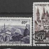 Franta 1951, Stampilat