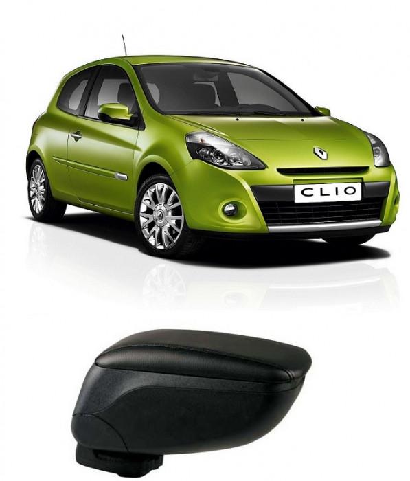 Cotiera Reglabila Renault Clio 3 Din Piele Eco Premium foto mare