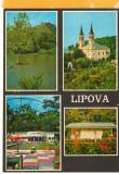 CPI (B8772) CARTE POSTALA - LIPOVA, MOZAIC, Circulata, Fotografie