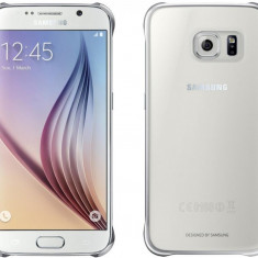 Galaxy S6 G920 Protective Cover (Clear) Silver EF-QG920BSEGWW