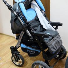 Carucior Baby Merc JUNIOR Plus - Carucior copii 3 in 1 Baby-Merc, Albastru