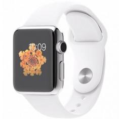 APPLE WATCH 38 MM CARCASA DIN OTEL INOXIDABIL SI CUREA SPORT ALBA MJ302LL - Smartwatch