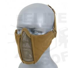 Masca din plasa Half Face - Coyote [CS] - Echipament Airsoft
