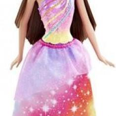 Papusa Barbie Fairy Rainbow Fashion Brown Hair Mattel